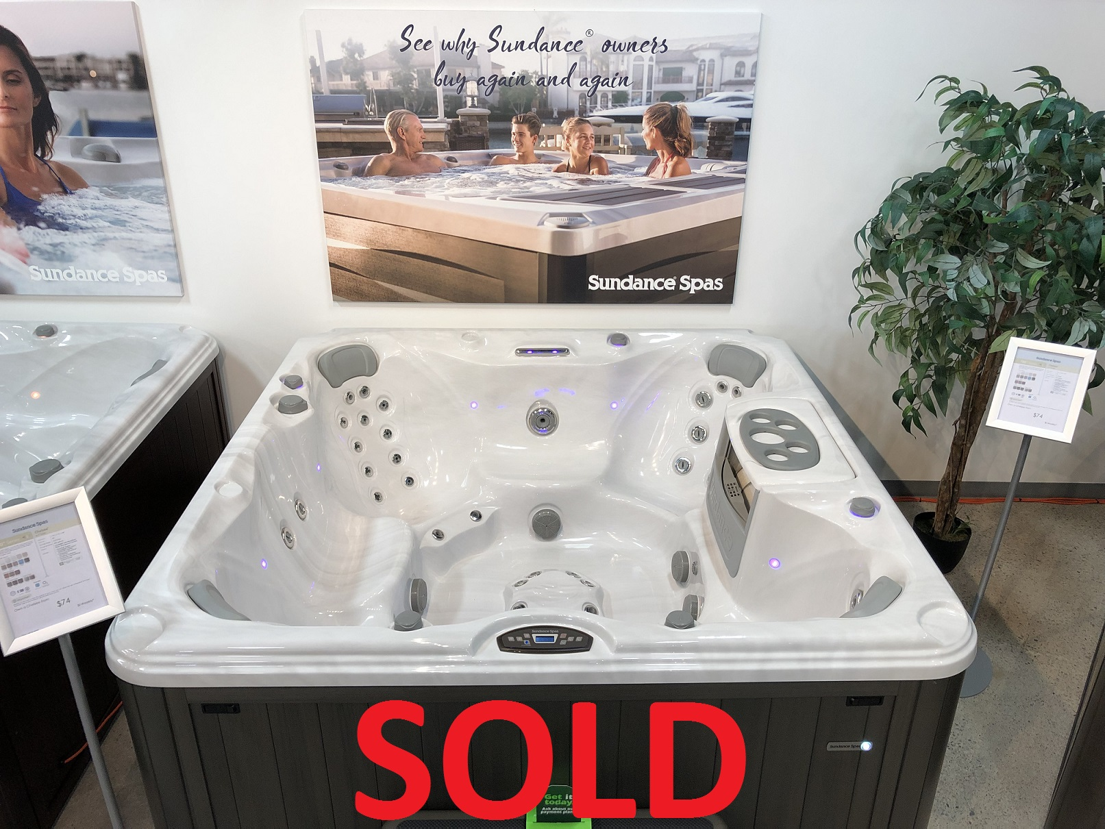 Sundance Spas 780 Series Chelsee 7 person hot tub spa whirlpool store near me Hamilton Ontario