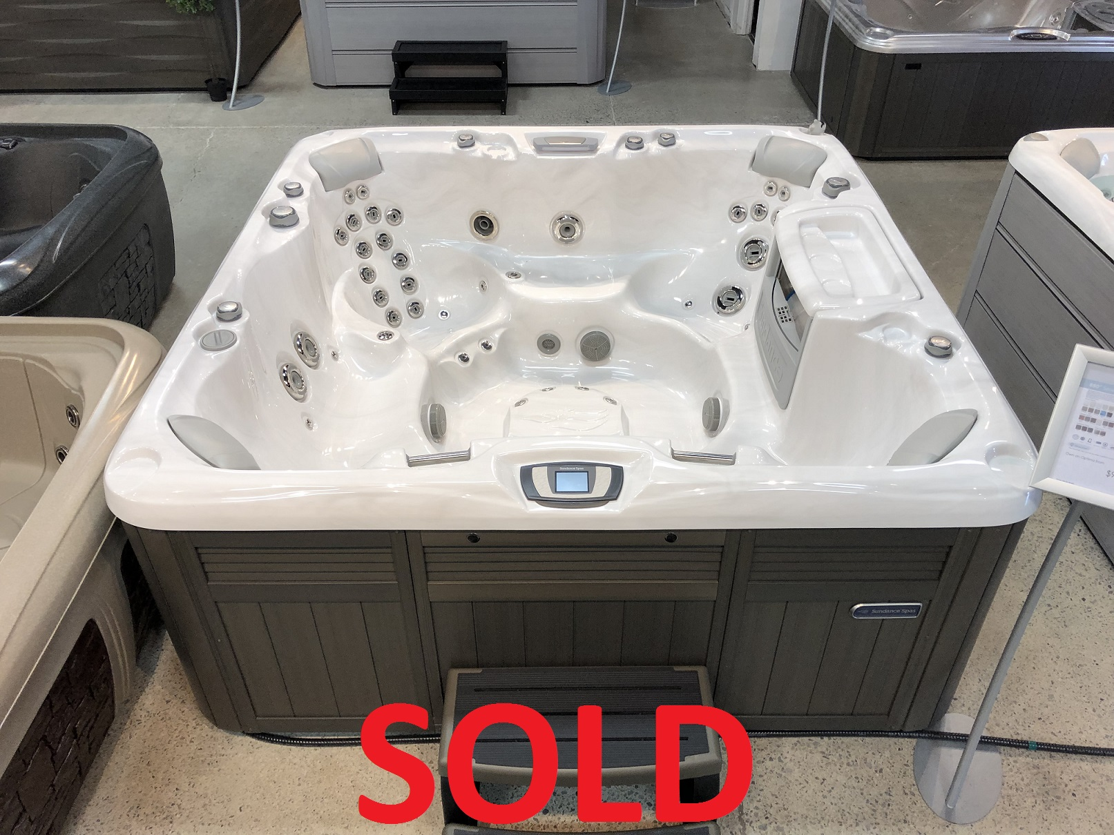 Sundance Spas 880 Series Optima 7 person hot tub spa whirlpool hot tubs near me Hamilton Ontario