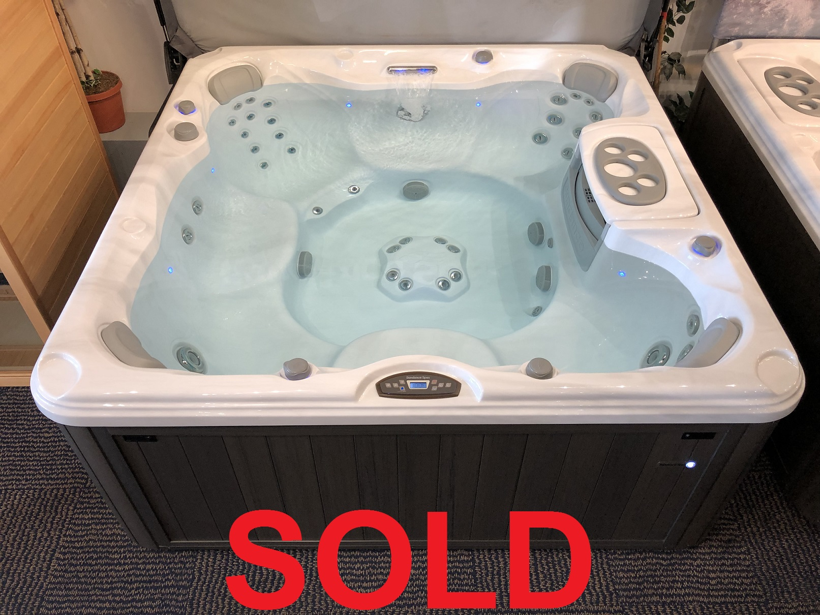 Sundance Spas Chelsee 7 person hot tub spa whirlpool sale hot tubs specials sales near me Burlington Ontario